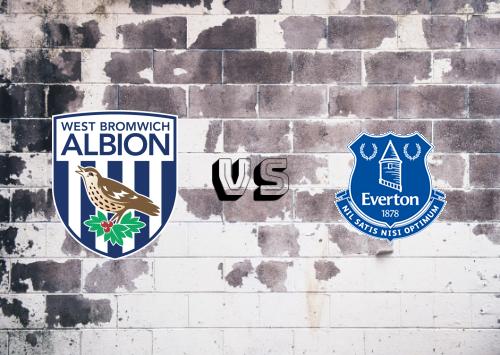 West Bromwich Albion vs Everton  Resumen