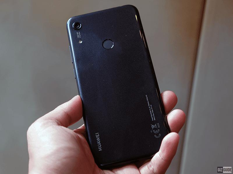 Huawei Y6s rear