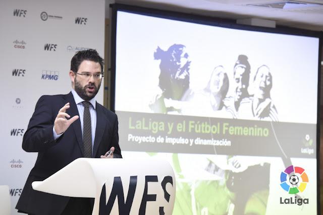 El crecimiento del fútbol femenino, presente en World Football Summit