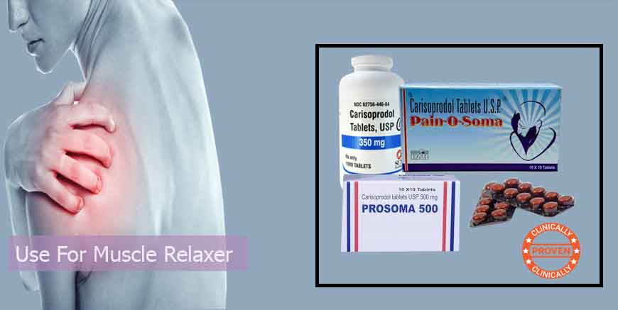 CARISOPRODOL IS THE BEST MEDICATION TO TREAT SEVERE PAIN