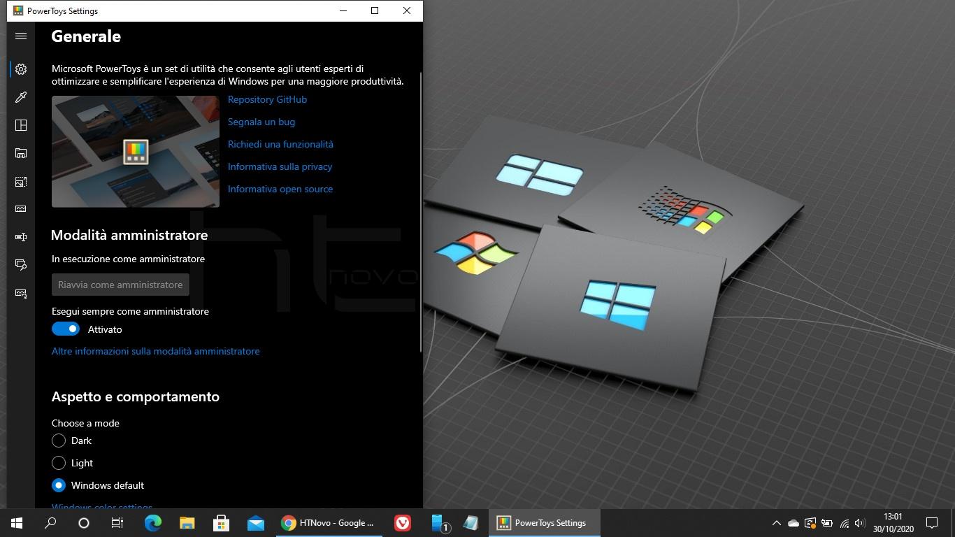 PowerToys per Windows 10 adesso in italiano