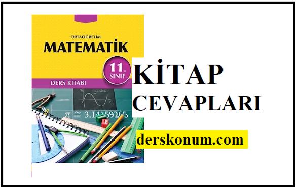 11.Sınıf Matematik Kitap Cevapları Biryay Yayınları,