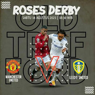 Link Live Streaming Manchester United vs Leeds United 14 Agustus 2021