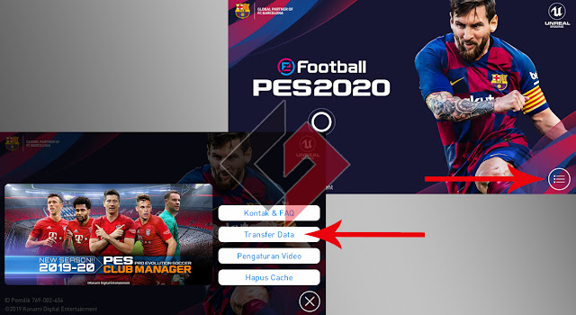 Cara Pasang Config PES 2020 Mobile dengan Multiple Account
