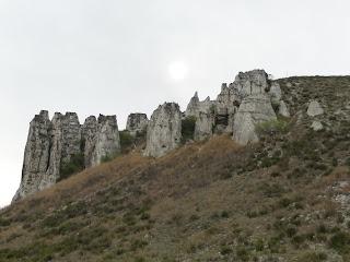 Білокузьминівські крейдяні скелі