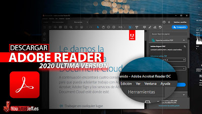 como descargar adobe reader 2020 gratis