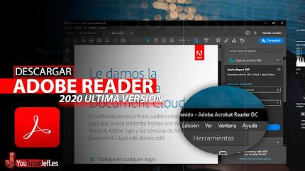 Como Descargar Adobe Reader Ultima Versión 2020 Español