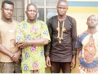 Four arrested for allegedly beating policeman to death in Ogun