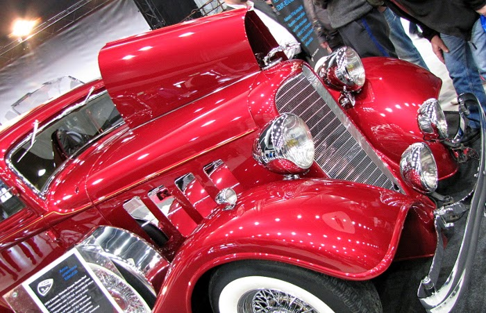 Lahti Classic Motor Show 2014 punainen auto red car old car vintage