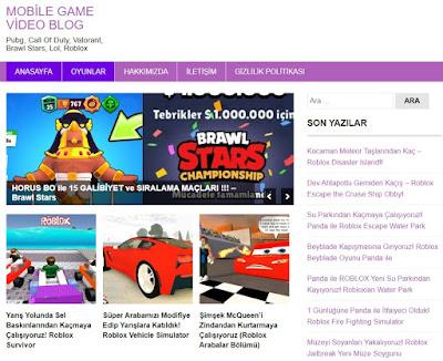 Mobile-Game-Video-Blog