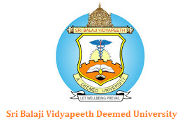 Sri Balaji Vidyapeeth Deemed University BDS Entrance Exam