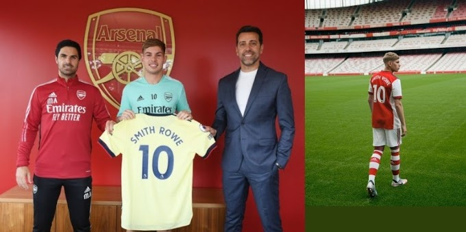 Emile Smith Rowe signs contract deal with Arsenal club