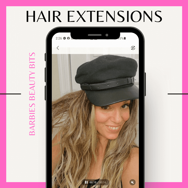 Hair Extensions Over forty By Barbies Beauty Bits