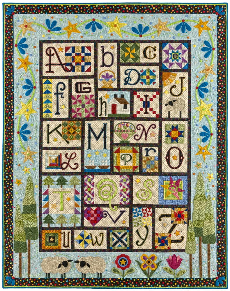 Quilt Patterns Block Of The Month : Quilt, Knit, Run, Sew: A - Z for Ewe and Me - Block of the Month