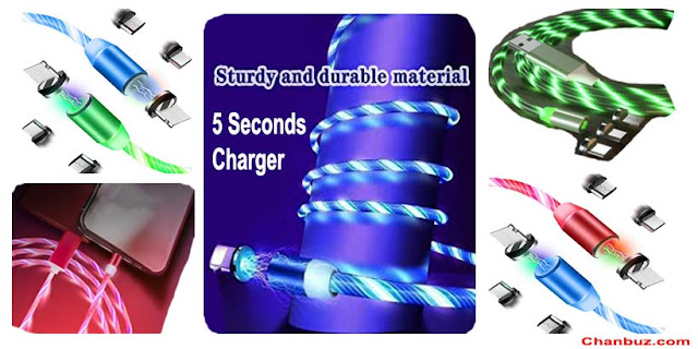 5 Seconds Charger: Review #1 Magnetic Charging Cable 2021