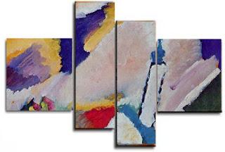 cuadros abstractos pintores famosos