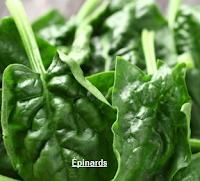 légumes verts à feuilles, pour se protéger contre l'ostéoporose.
