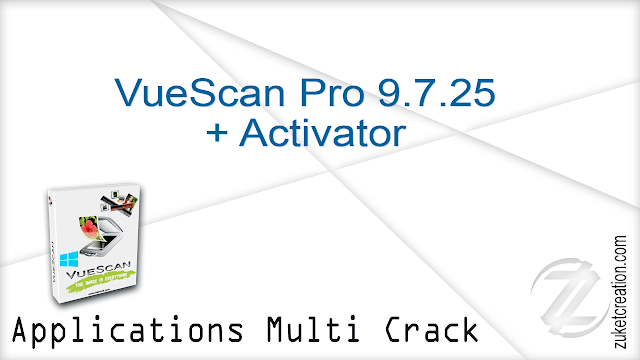 VueScan Pro 9.7.09 + Patch