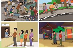 Jawaban Mengamati Gambar Tentang Kepedulian Lingkungan di Tema 6 Subtema 1 Kelas 6 SD
