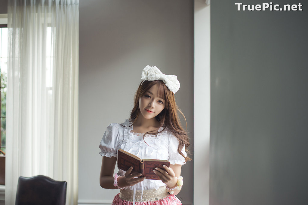 Image Korean Beautiful Model - Ji Yeon - My Cute Princess - TruePic.net - Picture-5