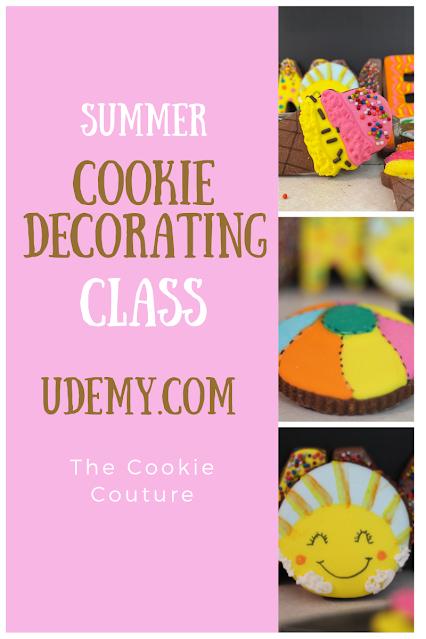 Cookie decorating class @www.Udemy.com