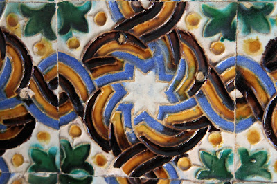 Tile from Casa de Pilatos