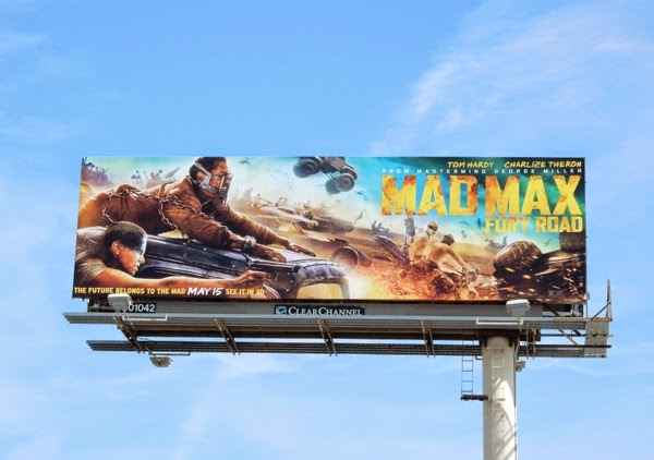 Mad Max Fury Road billboard