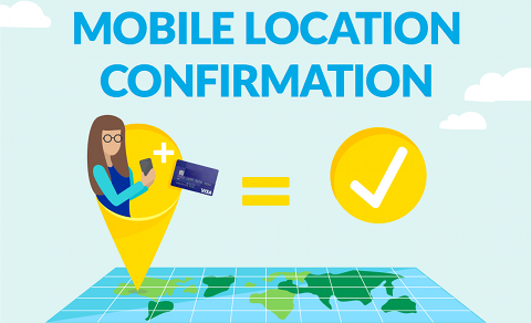 Visa Mobile Location Confirmation