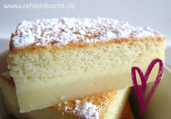 Magischer Kuchen, Magic Cake | Foodblog rehlein backt