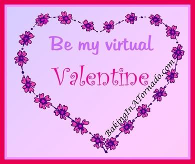Be My Valentine | graphic designed by and property of www.BakingInATornado.com | #MyGraphics