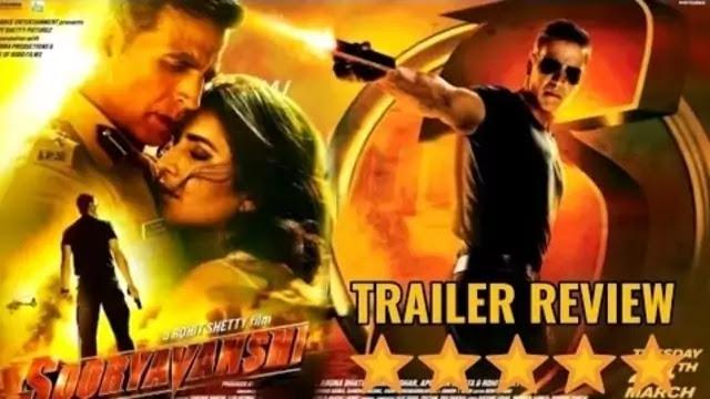 Sooryavanshi Movie Bollywood Trailer review - Uslis