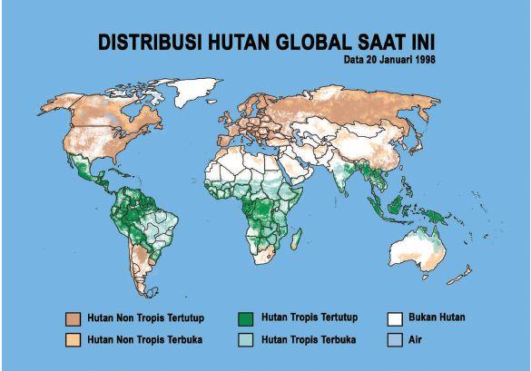 Sebaran Hutan di Dunia