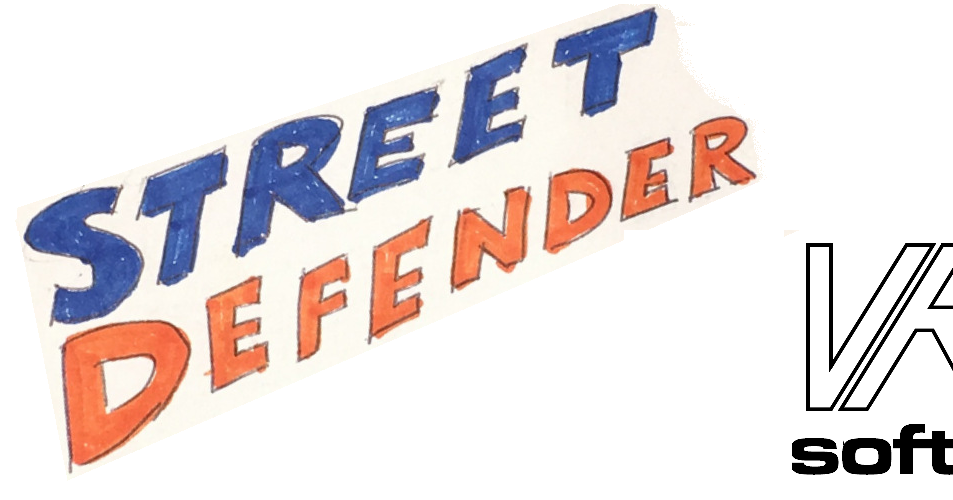 64jim64's commodore 64 page: Street Defender VR64 Video Game