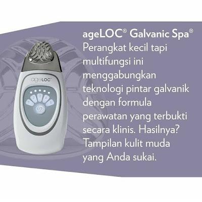Beauty Gadget Nu Skin ageLOC Galvanic Spa