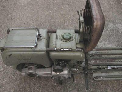 เปิดกรุรุ่นแรก Lambretta MA125