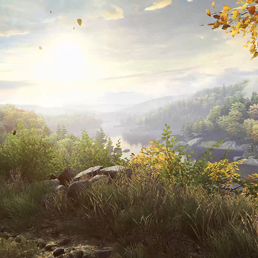 Ethan Carter Autumn Leaves Wallpaper Engine