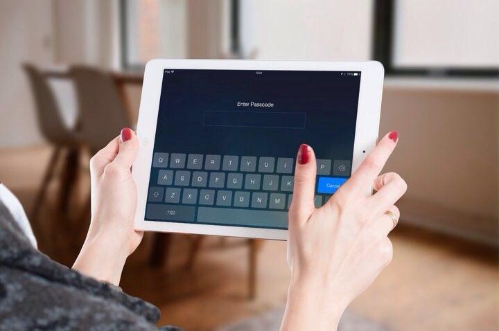Mengunci iPad Dengan Passcode atau Password