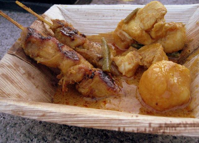 Malaysia festival, Chicken Satay
