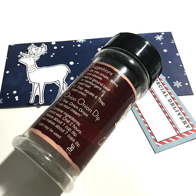 Reindeer Food Shaker featuring Falala.Collection by BoBunny designed by Rhonda Van Ginkel