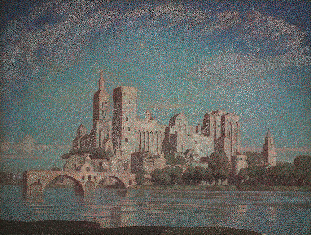 Claude Francis Barry - A Summer Night, Avignon