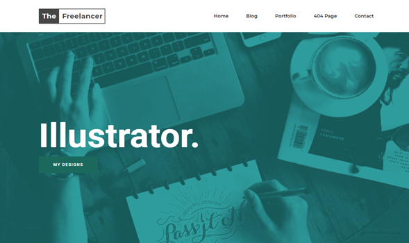 The freelancer responsive blogger template templateism the freelancer responsive blogger template cheaphphosting Image collections