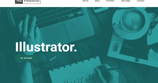 The Freelancer Responsive Blogger Template