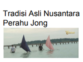 Jawaban Soal Tuliskan nilai-nilai moral yang terkandung dalam permainan perahu Jong