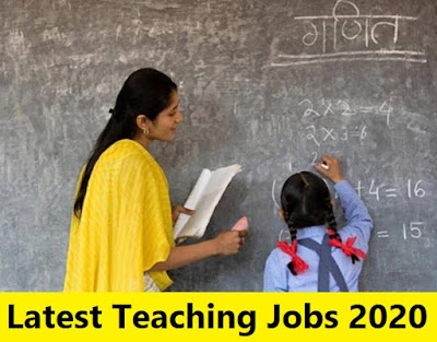 govt teaching jobs 2020