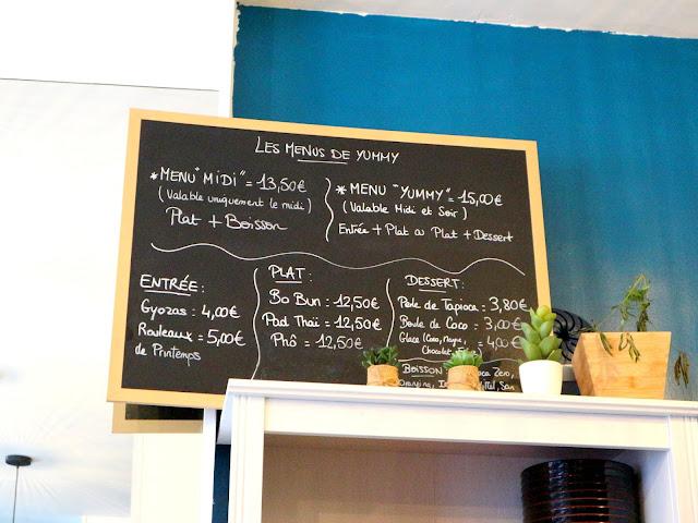 Au menu du restaurant amiénois Yummy by Cook'n Asia, de délicieux plats asiatiques !