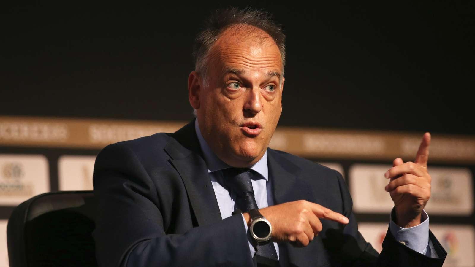 Javier Tebas is close to renewing his presidency of La Liga