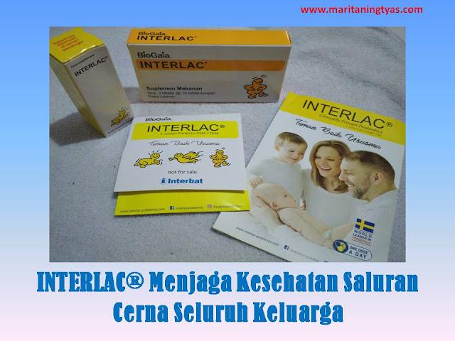 INTERLAC® Menjaga Kesehatan Saluran Cerna Seluruh Keluarga