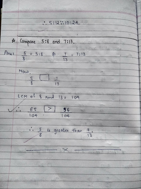 Math Ch 15 Direct and Inverse Variation (Notebook Exercise)