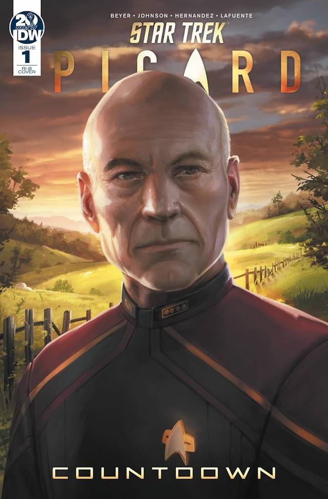 Reseña de Star Trek: Picard. Countdown, el Cómic Precuela de la serie de Amazon Video