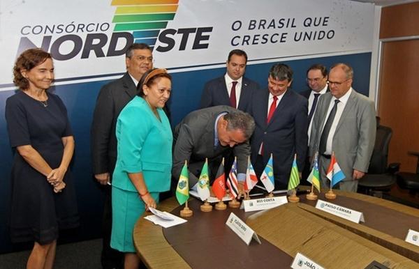 Fátima comemora consórcio e governadores do NE anunciam compras conjuntas a partir de agosto